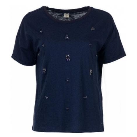 Timeout T-shirt damski ciemny niebieski