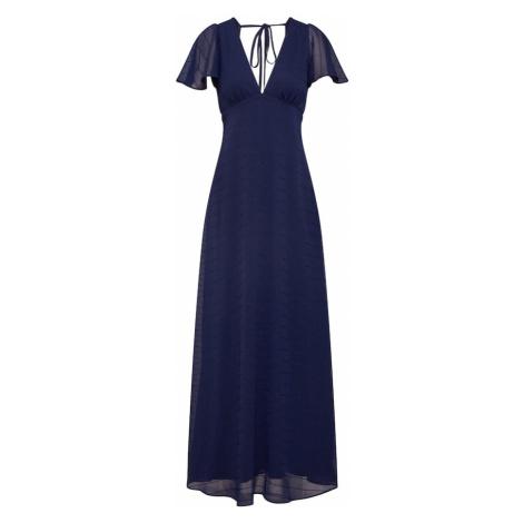 Y.A.S Sukienka 'SPEACHY MAXI DRESS' niebieska noc