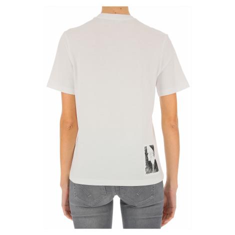 Karl Lagerfeld Koszulka dla Kobiet, biały, Bawełna, 2021
