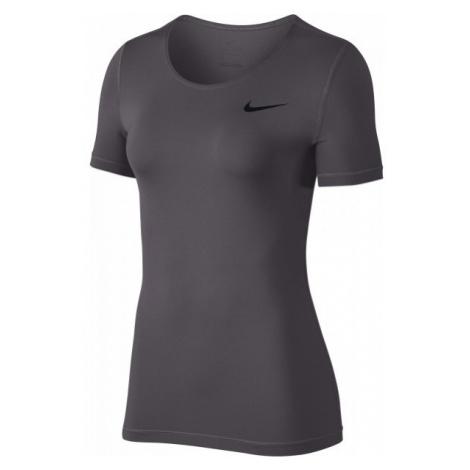 Nike TOP SS ALL OVER MESH - Top sportowy damski