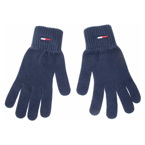 Rękawiczki Męskie TOMMY JEANS - Tjm Basic Flag Rib Gloves AM0AM05217 C87 Tommy Hilfiger