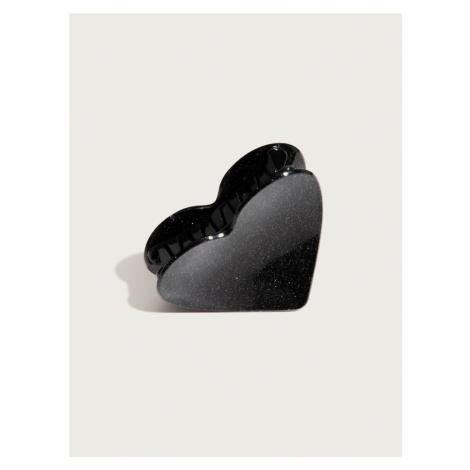 Pico For EDITED Biżuteria do włosów 'Heart' czarny