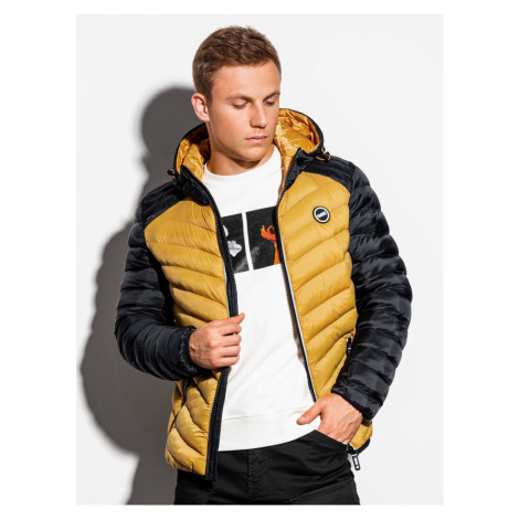 Ombre Clothing Men's mid-season quilted jacket C366