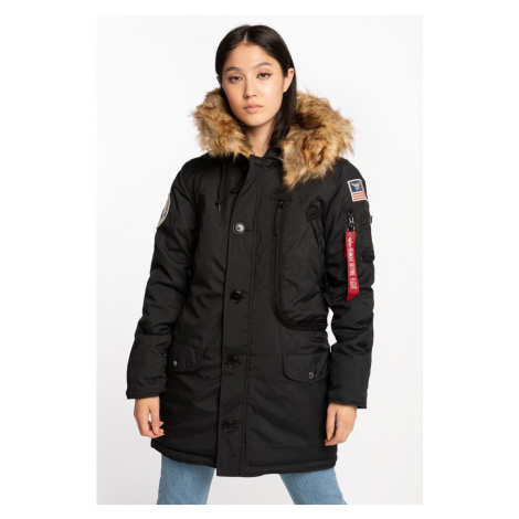 Kurtka Alpha Industries Polar Jacket Wmn 03 Black