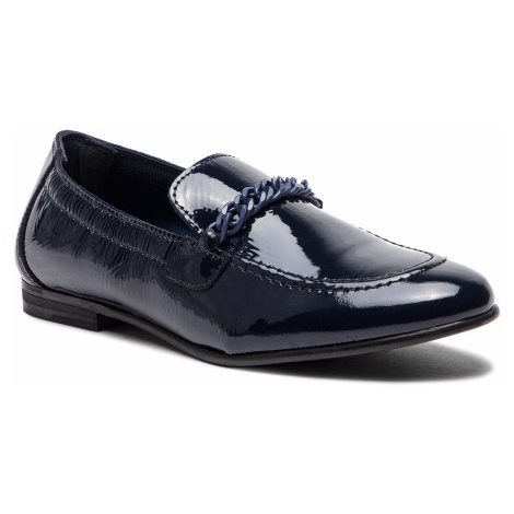 Lordsy TOMMY HILFIGER - Rubberized Chain Loafer FW0FW03763 Tommy Navy 406