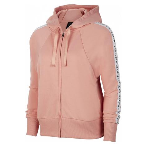 NIKE Bluza rozpinana sportowa różowy pudrowy