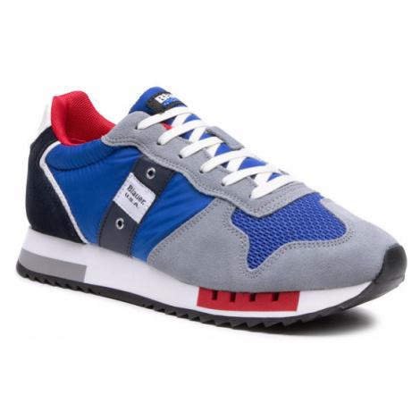 Blauer Sneakersy S1QUEENS01/STO Niebieski
