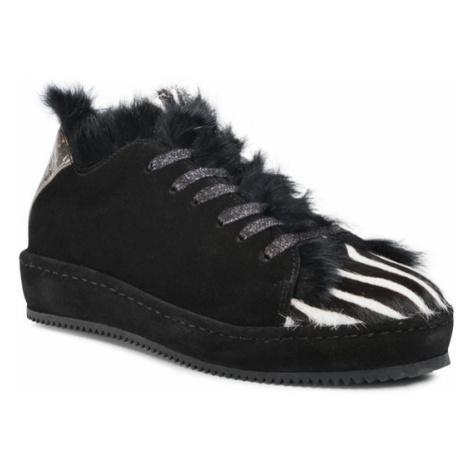 Eva Minge Sneakersy EM-23-08-001019 Czarny