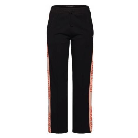 SCOTCH & SODA Spodnie różowy pudrowy / czerwony / czarny