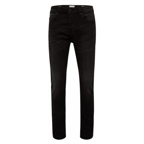Only & Sons Jeansy 'LOOM BLACK JOG 7451 PK NOOS' czarny denim