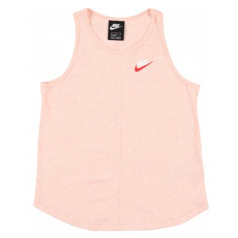 Nike Sportswear Koszulka brzoskwiniowy