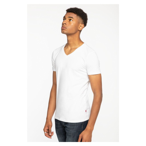 Koszulka Levi's Men V-Neck 2Pack 37152-0004 White Levi´s