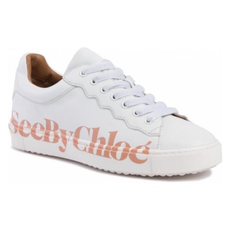 See By Chloé Sneakersy SB33125A Biały