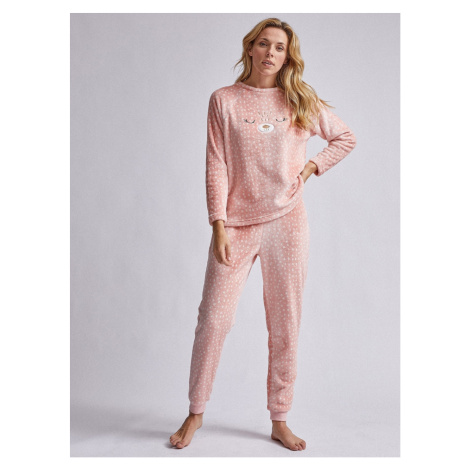 Dorothy Perkins Pink Patterned Two-Piece Pajamas