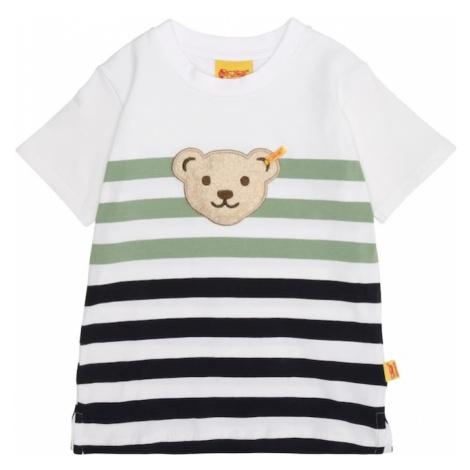 Steiff Collection Koszulka beżowy / niebieski / zielony / biały