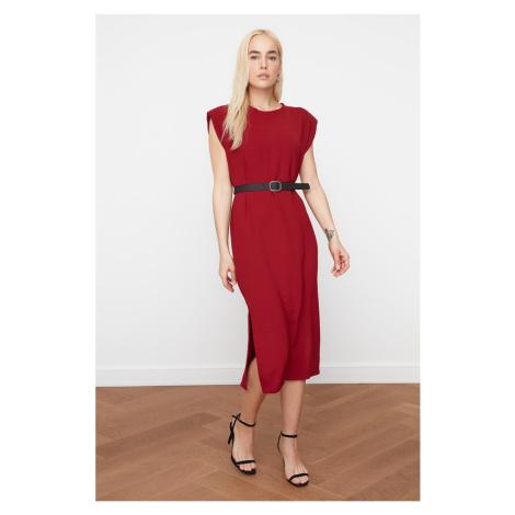Czerwone sukienki bez rękawów