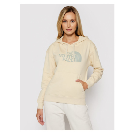 The North Face Bluza W Light Drew Peak Hoodie NF0A3RZ4RB61 Beżowy Regular Fit