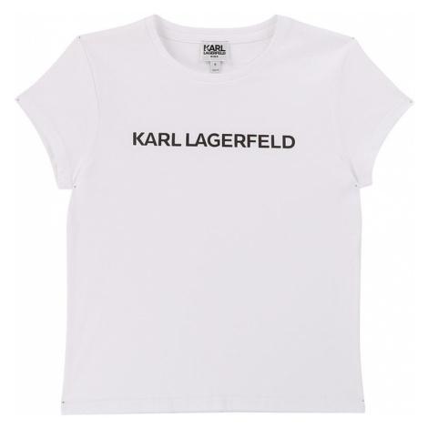 Karl Lagerfeld - T-shirt dziecięcy 156-162 cm