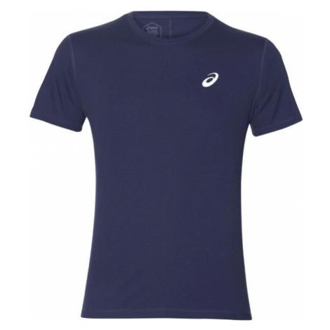 Asics SILVER SS TOP niebieski XXL - Koszulka do biegania męska