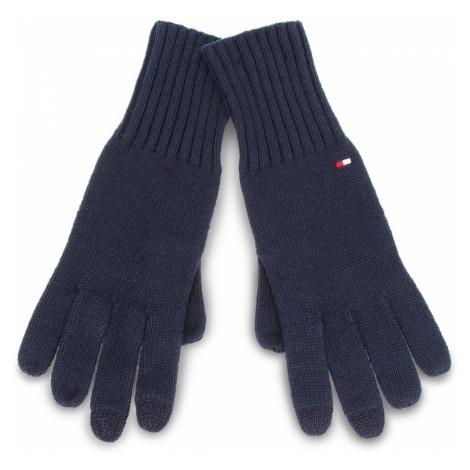 Rękawiczki Damskie TOMMY HILFIGER - Soft Knit Gloves AW0AW05965 413