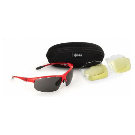 Czerwone okulary przeciwsłoneczne Mori-red - Kilpi UNI