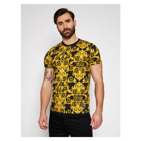 Versace Jeans Couture T-Shirt B3GWA7S0 Czarny Slim Fit