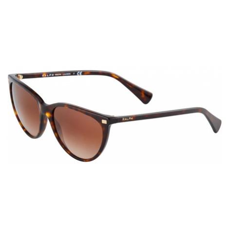 POLO RALPH LAUREN Okulary przeciwsłoneczne brązowy / pomarańczowy