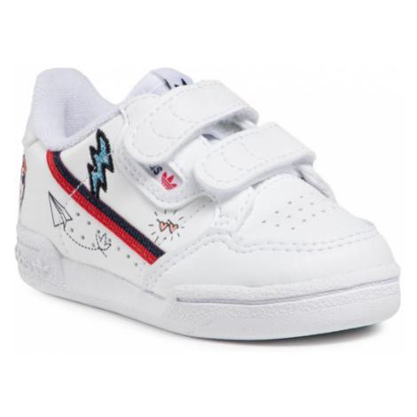 Adidas Buty Continental 80 Cf I FX6071 Biały