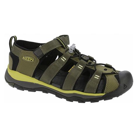 dziecięce buty Keen Newport Neo H2 - Dark Olive/Celery