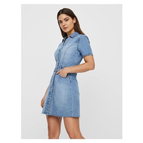 Noisy may Sukienka koszulowa 'NMLISA' niebieski