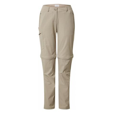 CRAGHOPPERS Spodnie outdoor beżowy