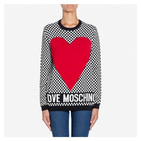 Sweter damski Love Moschino WS07G 10 X1340 4023