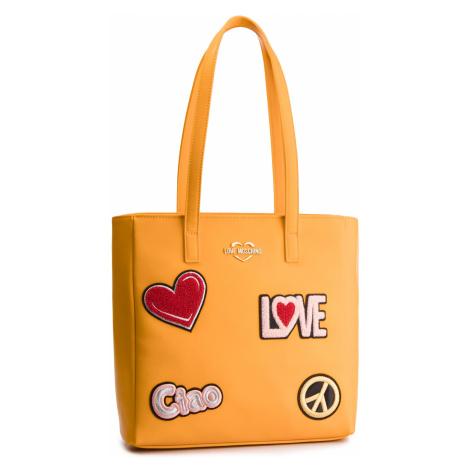 Torebka LOVE MOSCHINO - JC4081PP17LJ0400 Giallo