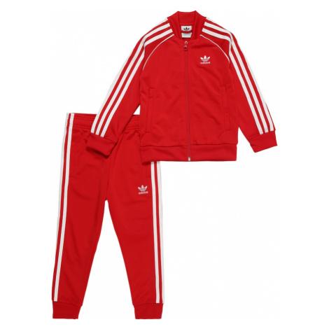 ADIDAS ORIGINALS Strój do biegania czerwony / biały