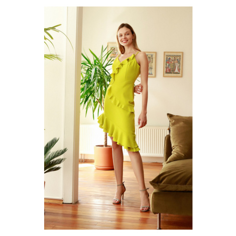 Trendyol Yellow Volli Dress