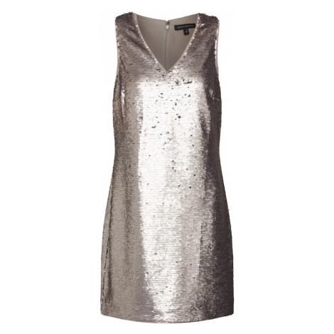 Banana Republic Sukienka 'SL VNECK SHIFT SEQUIN' złoty