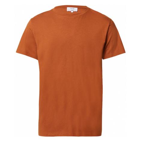 DAN FOX APPAREL Koszulka 'Piet' koniakowy