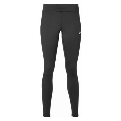 Asics SILVER WINTER TIGHT czarny L - Zimowe legginsy do biegania damskie