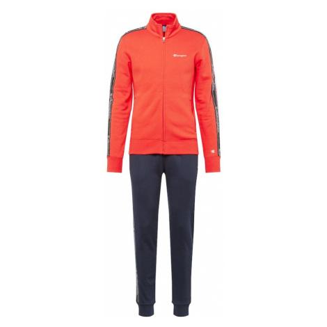 Champion Authentic Athletic Apparel Strój do biegania granatowy / pomarańczowo-czerwony