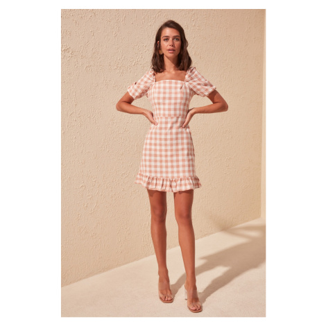 Women's dress Trendyol Checked