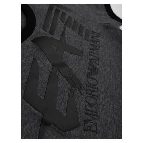 EA7 Emporio Armani T-Shirt 3HBT56 BJT3Z 3925 Szary Regular Fit