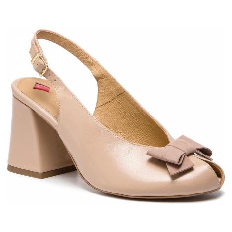 Sandały MACCIONI - 898.456123.4735 Beżowy