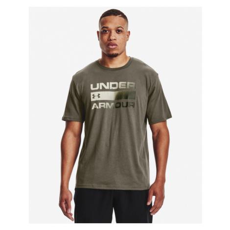Under Armour Team Issue Wordmark Koszulka Brązowy