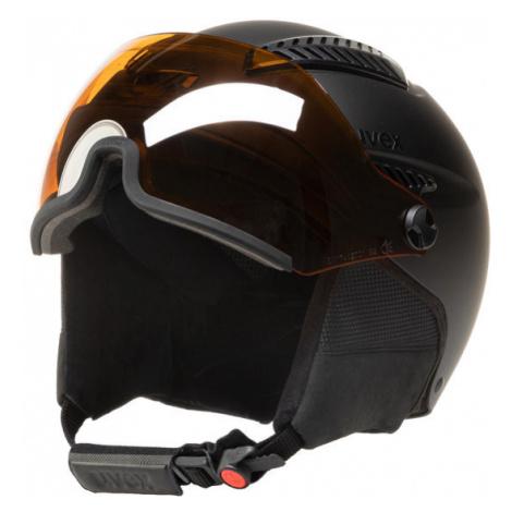 Uvex Kask narciarski Hlmt 600 Visor S5662362007 Czarny