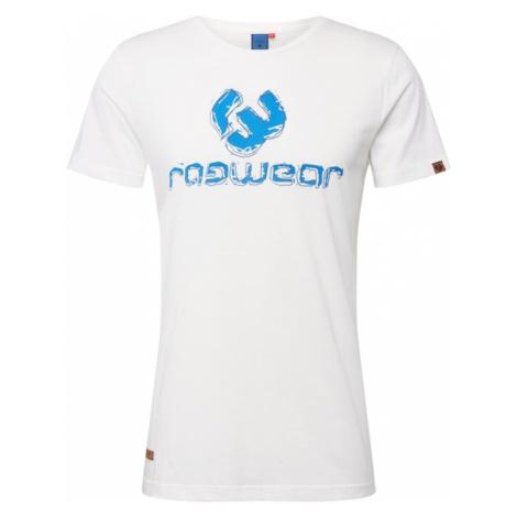 Ragwear Koszulka 'Charles' biały / niebieski / granatowy / karmelowy