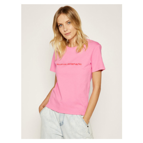 Local Heroes T-Shirt AW2021T0029 Różowy Regular Fit