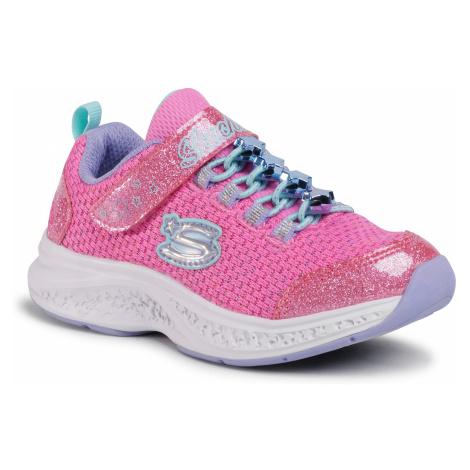 Buty SKECHERS - Jewel Kicks 302019L/PKMT Pink/Multi