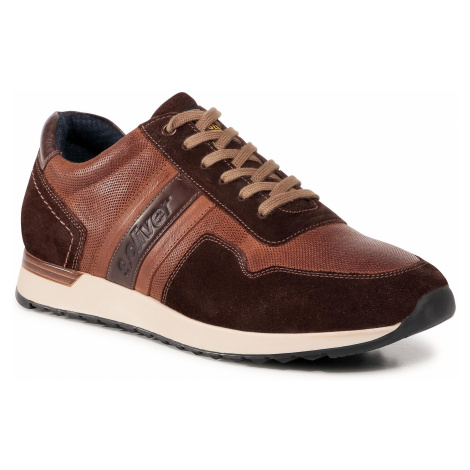 Sneakersy S.OLIVER - 5-13626-35 Brown 300