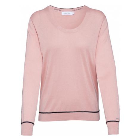 Calvin Klein Bluzka sportowa różowy pudrowy