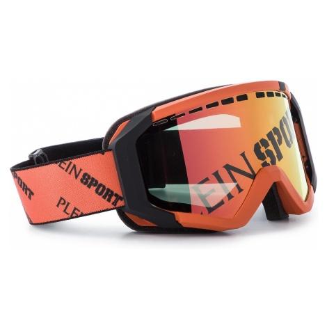 Gogle PLEIN SPORT - Goggles MEG0003 STE003N Orange/Grey/Fume/Nk TDWK